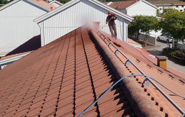 Tvättning av tak i vallentuna