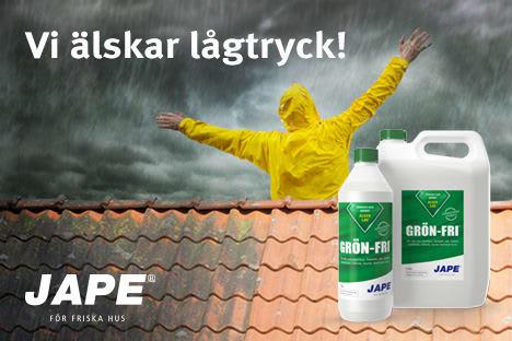 Grön fri gör ditt tak rent igen